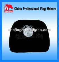 Promotional custom logo flag car seat cover