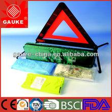 nylon car road emergency kit with din 13164