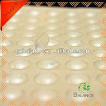 Transparent self-adhesive bumper protection dots