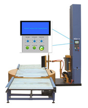 YK2000FZ-PL Fully automatic pallet stretch online wrapping machine for packing line