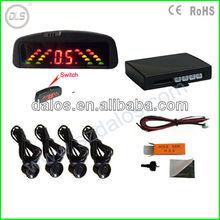 OEM Car reversing rear roof 4 Parking sensor Mirror view Radar LED Display Alarm