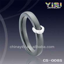Skull Turkish Silver Jewelry Black Ceramic Silver Ring Exotic Gemstone Design