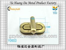 antique brass turn lock fittings