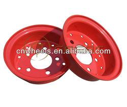 small wheel rim for tcm forklift, split forklift wheel rim 3.00-8