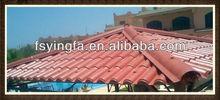 Villa using light weight beautiful wave roofing