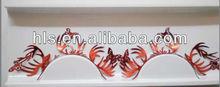 wholesale price OEM service cosmetic animal colorful paper cut eyelash false eyelash