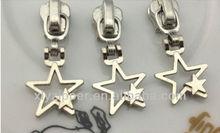 New arrival star pull slider,slider for nylon zipper
