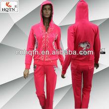 Newest tracksuit sportswear for women 2013