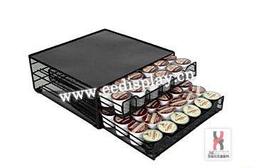 Pratique m tal caf k capsules de tiroir de rangement cuisine dosettes de - Tiroir capsule dolce gusto ...