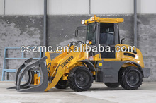 Qingzhou shanzhuang pitchfork in loader Small Wheel Loader 916 With CE Europe III Engine