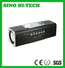 2 in 1 Mini Audio Box Speaker with Mobile Power Charge Station for iPhone 3G/3GS/4G/iPod (Black)