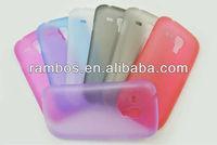 For Samsung I8190 Galaxy S3 mini TPU Back Slim case