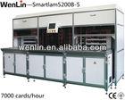 WENLIN-Smartlam 5200B-5 maquina de corte para tarjetas de pvc