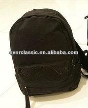 Different Models Black School Zip Lock Bag for Teenagers Boys