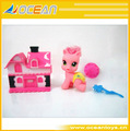 Lovely little pony divertido caballo pony rosa juguetes-- oc0154140