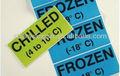 Personalizado congelador etiquetas