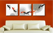 MN3005 / 40*40cm*3 diy digital oil painting by numbers sets on canvas