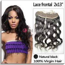 Swiss lace 2*13,4*13 virgin brazilian lace frontal