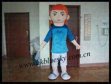 young popeye mascot costume