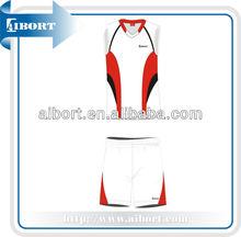 2015 nueva moda mujeres baratas del voleibol uniforme venta