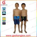 proteção uv resistente ao cloro nylon lycra meninos calções de praia