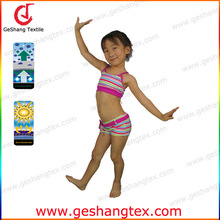 uv protective Chlorine resistant cartoon lovely nylon lycra girls beachwear