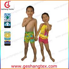 uv protective Chlorine resistant nylon lycra children Beachwear