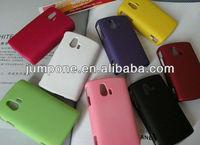 Rubber Hard Back Cover Case for Sony Ericsson Xperia Mini ST15i