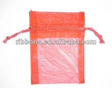 Promotional cotton drawstring bag for 100ML parfum organza bag