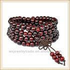 Cheap Wood Mala Beads Wholesale,Purple Sandalwood Beads Mala