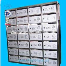 modern design metal mail box