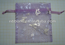 2012 new desgin velvet pouch for jewelry organza bag