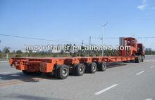 100 ton low bed semi trailer