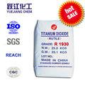 Dióxido de titanio rutilo Tio2 fabricante de la pintura