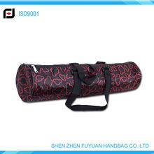 cyclinder shape yoga mat bag