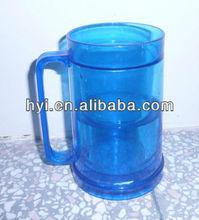 one dollor item plastic double wall freezer mug