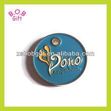 2013 fashion metal custom souvenir keychain