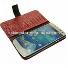 crocodile pattern for s4 i9500 pu leather case