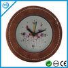 Leather alarm decorative table clocks-CPL6209C-1