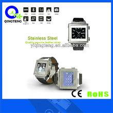 2013 Popular top selling leather strap elegant shape watch phone
