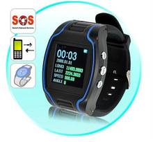 GSM GPRS GPS tracker watch personal gps tracking system