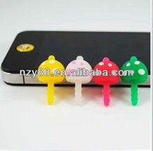 3.5mm ear cap plug with mushroom Shape For iPhone 4 iPhone 4S