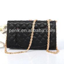 2013 High Quality Trendy Designer Flap Bag Double CC Women Brand Name Shoulder Bag Fashion PU Leather Channel Quilted Handbag