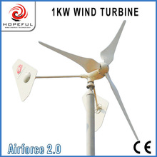 Green energy for 1kw best wind turbine design(twin tail)