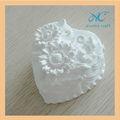 decorativa de gesso e pedra aroma coração forma turly em branco