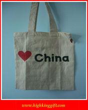 Custom printed cotton cloth shopping bags