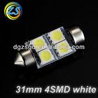 31mm 4SMD auto festoon led bulb 12v c5w