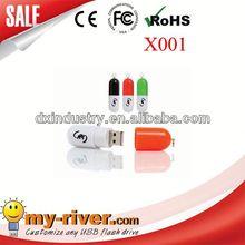 Popular Customized Design Promotional pill usb sticker