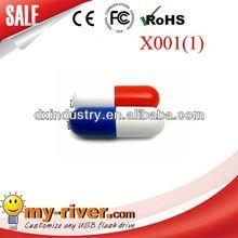 Popular Customized Design Promotional mini usb mobile vibration vibro pill speaker