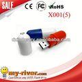 popolare design personalizzato promozionale capsula pillola forma usb flash drive